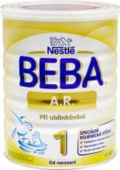 Nestlé Beba A.R. 1 speciální kojenecké mléko při ublinkávání, 800 g