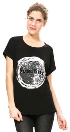 Desigual női póló M fekete