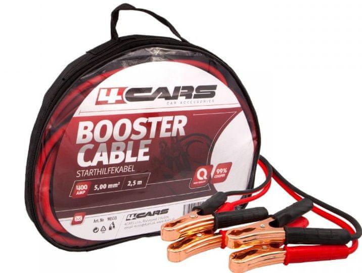 4Cars Startovací kabely 400AMP 2,5m