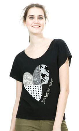Desigual ženska majica L črna