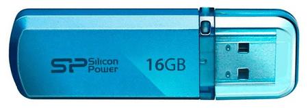 Silicon Power USB ključ Helios 101 16 GB, USB 2.0, moder