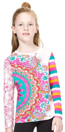 Desigual dekliška majica 140 večbarvna