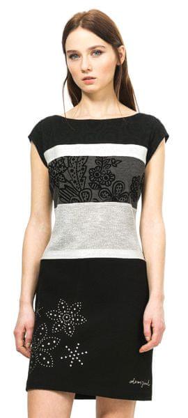 Desigual dámské šaty S černá