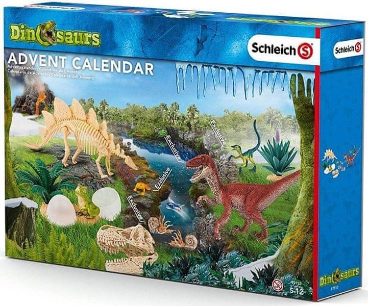 Schleich Adventní kalendář 2016 - Dinosauři 97152