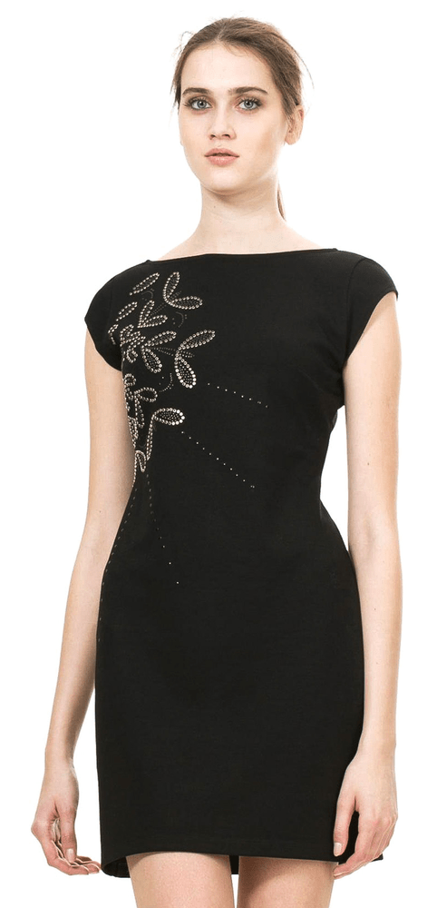 016f335b2241 Desigual női ruha XS fekete | MALL.HU