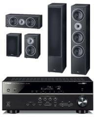 Yamaha HTR-4069 + Magnat Monitor Supreme 1002 set, černá