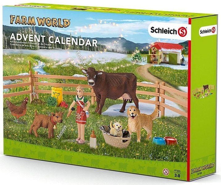Schleich Adventní kalendář 2016 - Domácí zvířata 97335