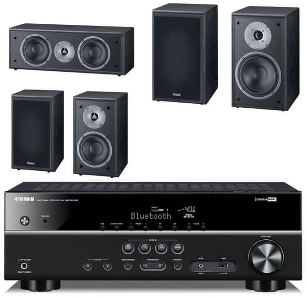 Yamaha HTR-3069 + Magnat Monitor Supreme 202 set, černá