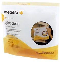 Medela Quick Clean sterilizációs tasakok mikrohullámú sütőbe - 5 db