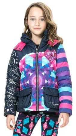 Desigual dívčí bunda 140 viacfarebná