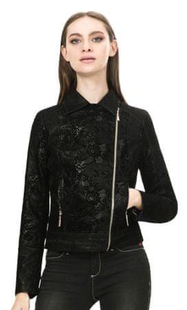 Desigual dámská bunda 36 tmavo sivá