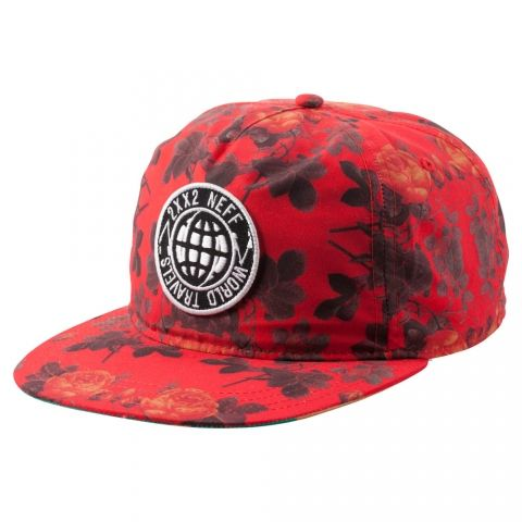 Neff World Traveler Deconstructed Red
