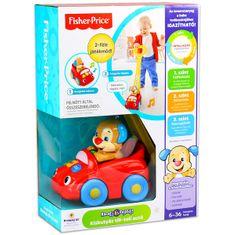 Fisher-Price Kiskutyás tili-toli játék autó - magyar nyelvű