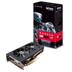 Sapphire grafična kartica Nitro+ Radeon RX 480 OC 8GB GDDR5 (11260-07-20G)