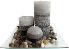 TORO Darčekový set 3 sviečky s vôňou jazmínu