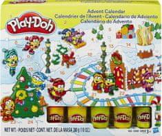Play-Doh adventni koledar