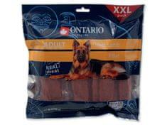 Ontario przekąska dla psa Snack Dry Lamb Fillet XXL - 500g