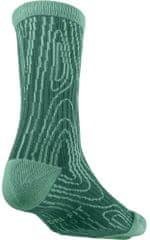 Nike nogavice SB Dri-Fit Woodgrain Crew, zeleni