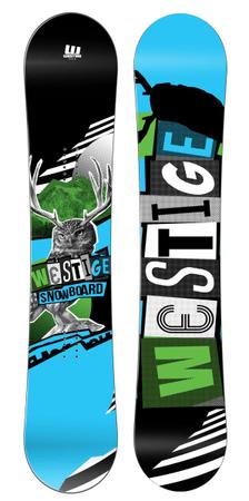 Westige snowboard Max Rental Wide, 163 cm