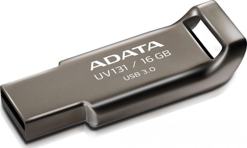 Adata UV131 16GB kovový (AUV131-16G-RGY)