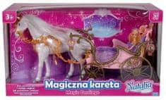 Artyk Magiczna kareta z białym koniem 209B