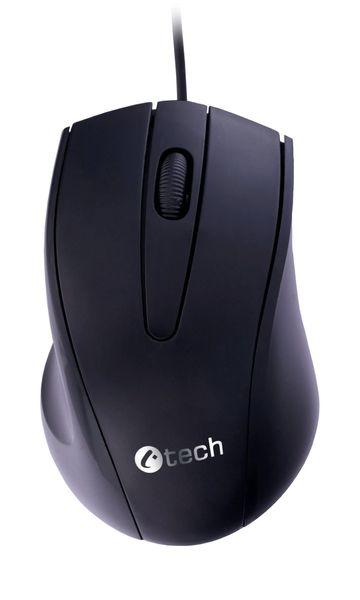 C-Tech WM-07, černá, USB