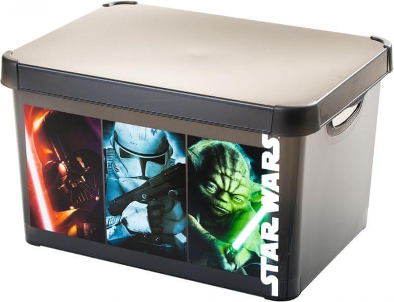 Curver Úložný box Star Wars L transparentní