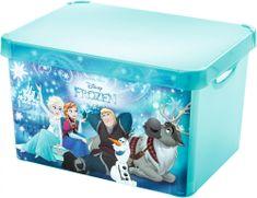 Curver Úložný box Frozen L transparentní