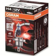 Osram halogenska žarnica 12V - H4 60/55 W Night Breaker Laser +130%
