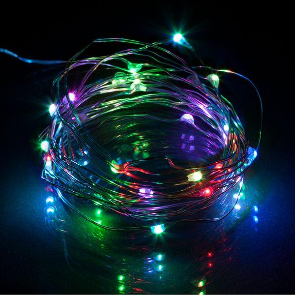 Retlux Vánoční LED řetěz na baterie 3 m barevný