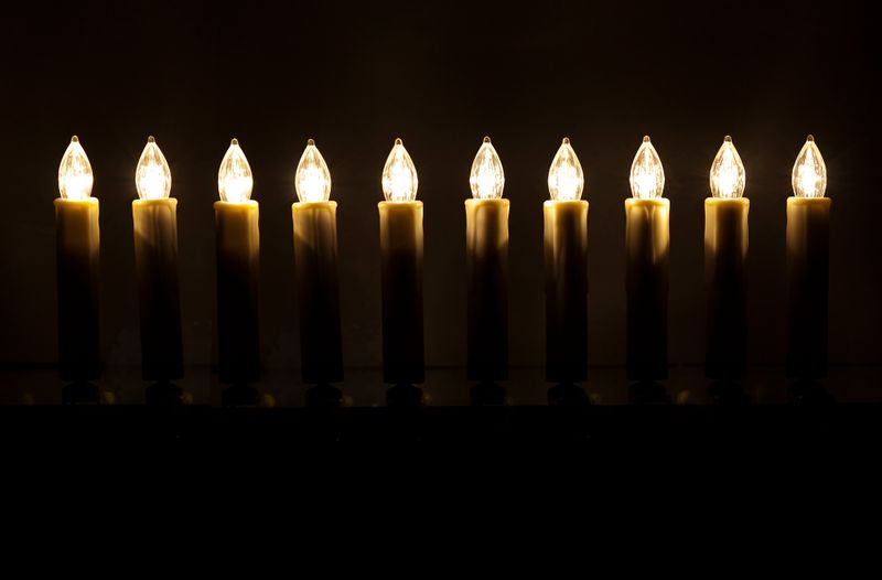 Retlux Vánoční LED svíčky s dálkovým ovládáním