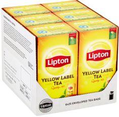 Lipton Yellow Label Černý čaj 6x 25 sáčků