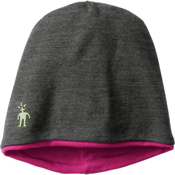 SmartWool Phd Reversible Training Beanie charcoal