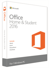 Microsoft Office Home & Student 2016, FPP, angleški