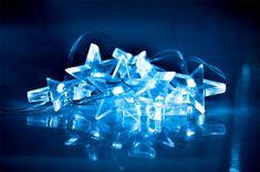 Solight Karácsonyi LED-csillag égősor, Kék