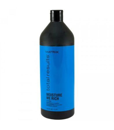 Matrix szampon nawilżający TOTAL RESULTS Moisture me rich, 1000 ml