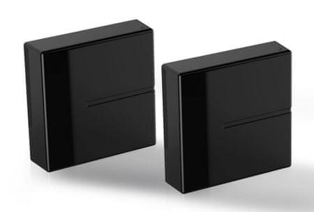 Meliconi modularni sistem za prekrivanje kablov Ghost Cube, črn