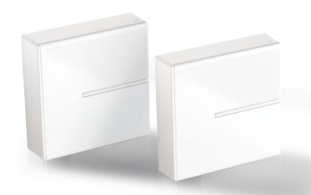 Meliconi modularni sistem za prekrivanje kablov Ghost Cube, bel