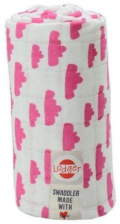 Lodger Multifunkční osuška Swaddler, Rosa
