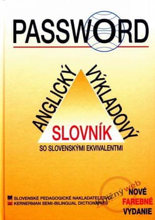 Kolektív: Password - Anglický výkladový slovník so slovenskými ekvivalentmi -4.vydanie
