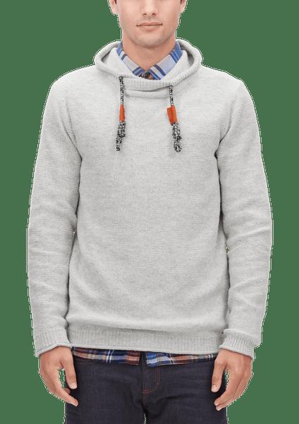 s.Oliver pánský svetr L šedá