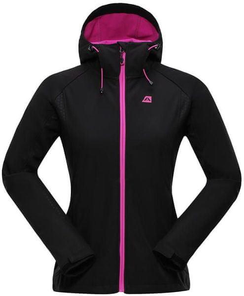 Alpine Pro Lalita Softshell Jacket W Black/Pink M