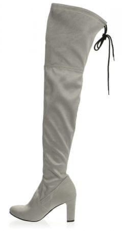 PAOLO GIANNI ženski škornji 37 siva