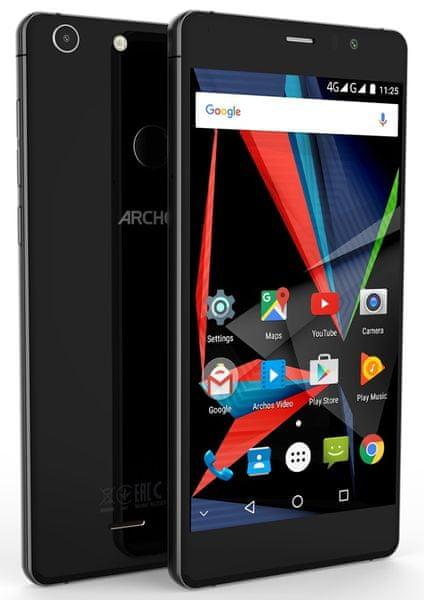 Archos Diamond Selfie, 4GB/64GB, černý