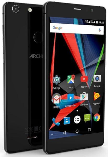Archos Diamond Selfie Lite, 3GB/16GB, černý
