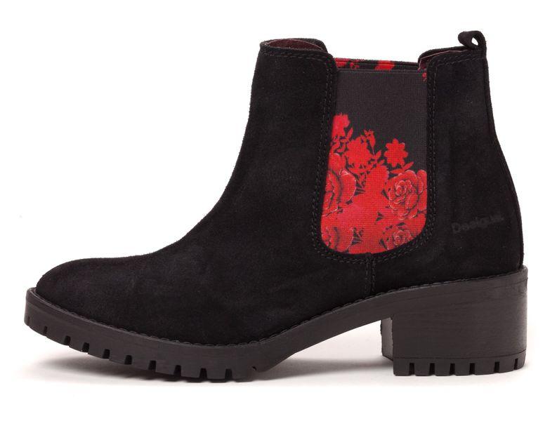 Desigual dámská kotníčková obuv 41 černá