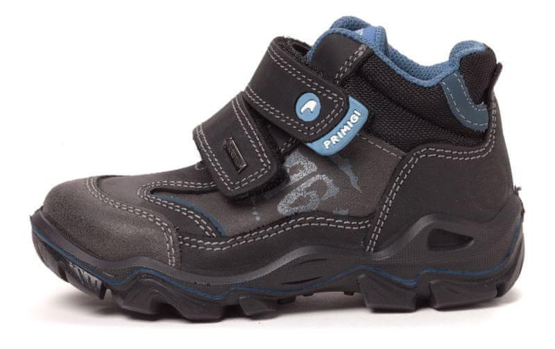 Primigi chlapecká kotníčková obuv Iron 30 černá