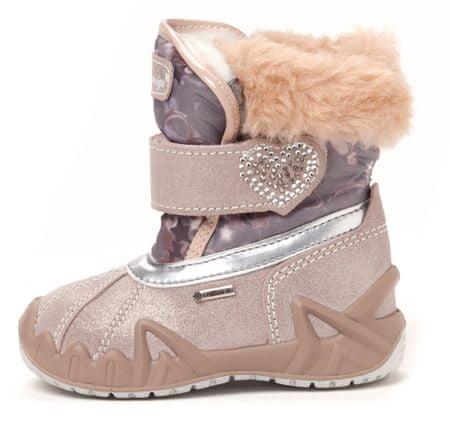 Primigi dekliški čevlji za sneg Xenia 26 svetlo roza