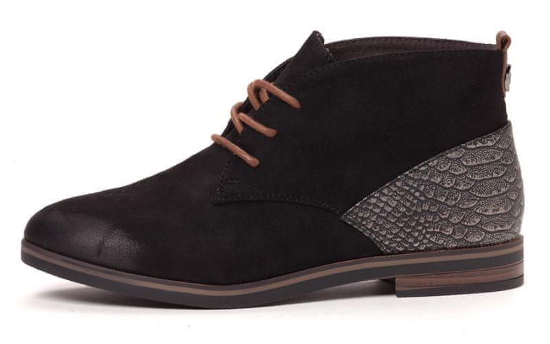 Tom Tailor dámská kotníčková obuv 41 černá