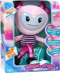Spin Master Brightlings interaktivní panenka – růžová
